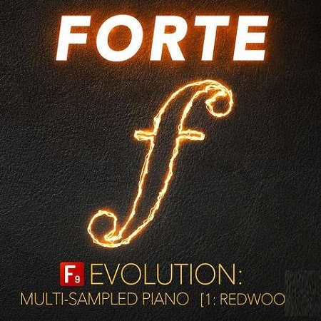 F9 Audio F9 Forte Evolution: Redwood Club Piano For Logic