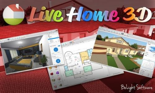 BeLight Live Home 3D 3.2.2 Multilingual MacOSX