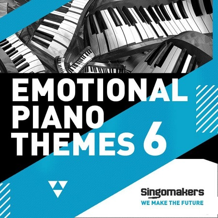 Singomakers Emotional Piano Themes Vol.6 WAV MiDi