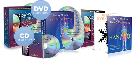 Donna Eden - Colors, Auras, and the Psychic Realm (5-DVD Set)