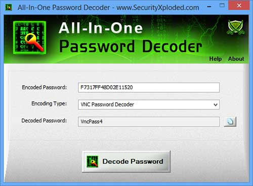 All In One Password Decoder 6.0