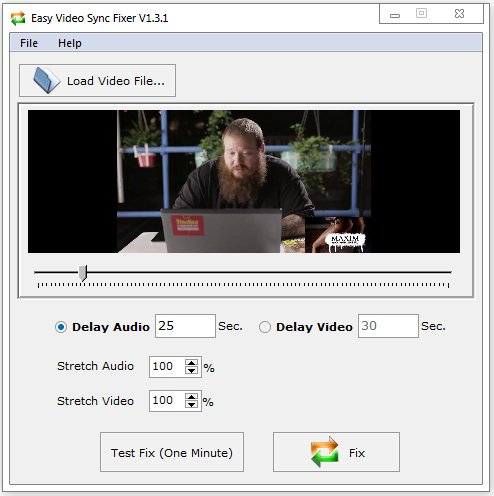 Easy Video Sync Fixer 1.3.4