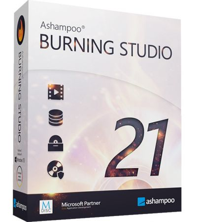 Ashampoo Burning Studio 21.6.0.60 Multilingual + Portable