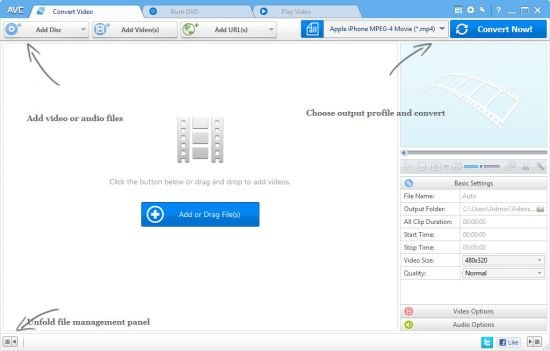 Any Video Converter Professional 7.0.2