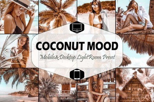 10 Coconut Mood Lightroom Presets