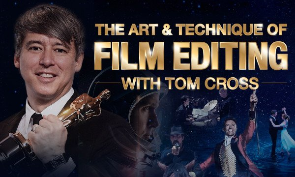 MZed - The Art & Technique of Film Editing with Tom Cross (Full Course)